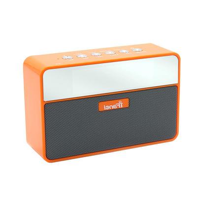 Cool Bluetooh Speaker With Clock Alarm Design And FM Radio