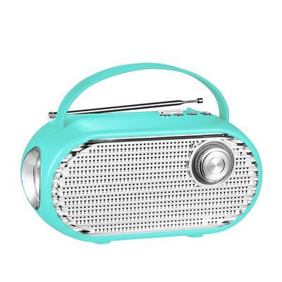 China IS-X16 Portable wireless outdoor indoor FM Radio led flashlight solar bluetooth speaker Wholesale-Jiahaoting