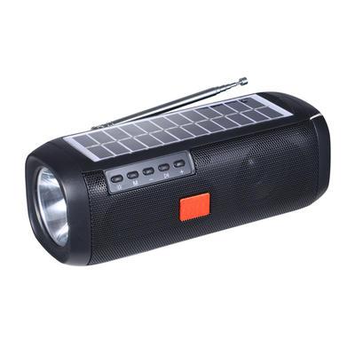 IS-X15 SolarRadio Wireless Bluetooth Speaker with LED Lamp Flashlight